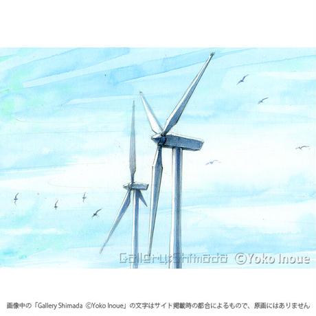 井上よう子「記憶の渚にて」挿絵原画81