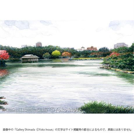 井上よう子「記憶の渚にて」挿絵原画63