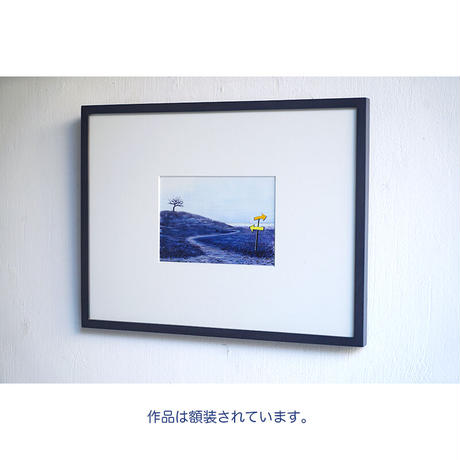 井上よう子「記憶の渚にて」挿絵原画45