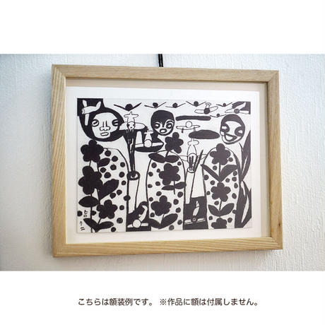 武内ヒロクニ「しあわせ食堂」挿絵原画 すいとん