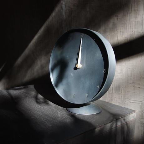 Clock  時計 黒皮鉄風