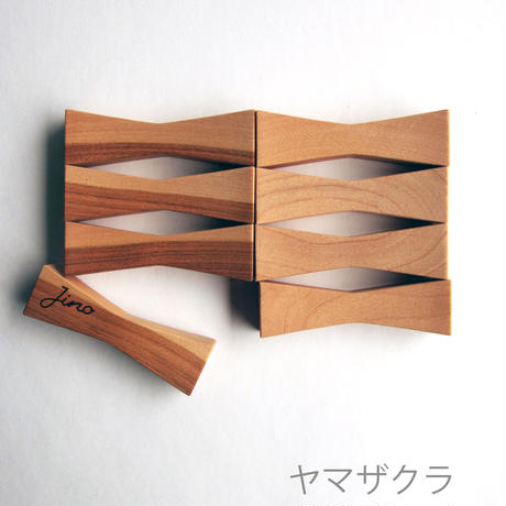 雑木の箸置き