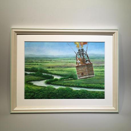 おおやぎえいこ「湿原遊覧飛行 」