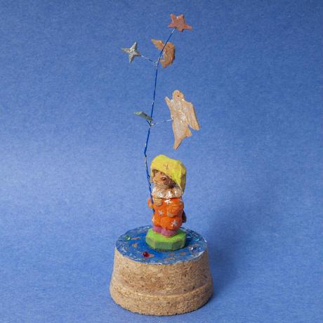 小出信久「星の枝と道化ネコ」