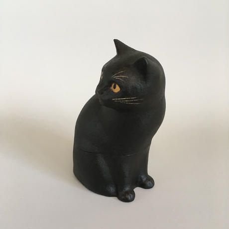 えのきえみ 乾漆 見返り美猫箱