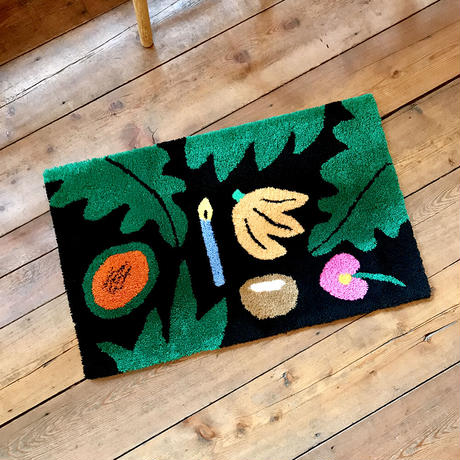 """Lilian Martinez (bfgf) × gallery commune """"Composition at Night"""" Rug"""
