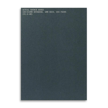 4MM Grid Notebook by Actual Source