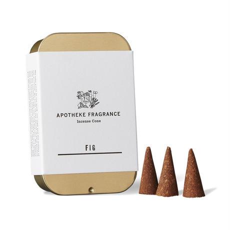 APOTHEKE FRAGRANCE Incense Cone - Fig / Maghreb Bukhoor / Oakmoss & Amber / Possess / White Tea