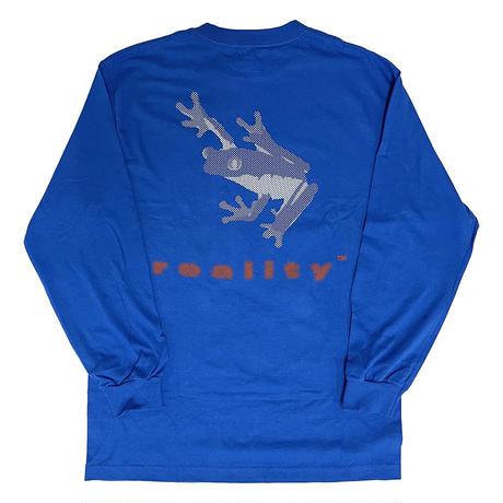 FROG Long Sleeve Tshirt [ROYAL] by Chaz Bear (Toro y Moi)