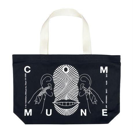 Ed Davis × gallery commune Tote Bag [Black]