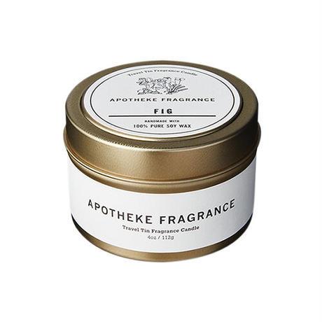 APOTHEKE FRAGRANCE Travel Tin Candle - Fig / Green Light / Lavender Chamomile / Oakmoss & Amber
