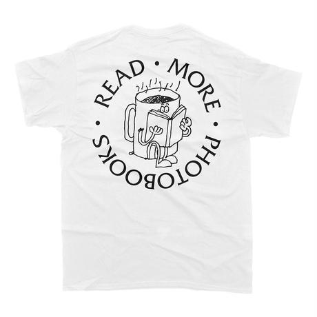 """DEADBEAT CLUB """"READ MORE PHOTOBOOKS"""" Tshirt"""