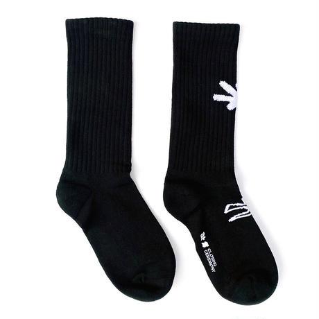 CC Community × Jin Ningning Socks [Black]