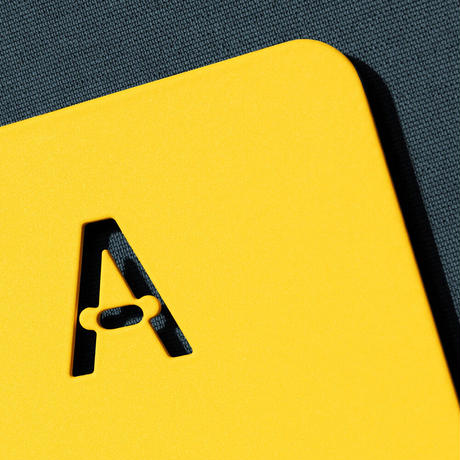 Hold Bookend  by NEW TENDENCY + Actual Source [Yellow]