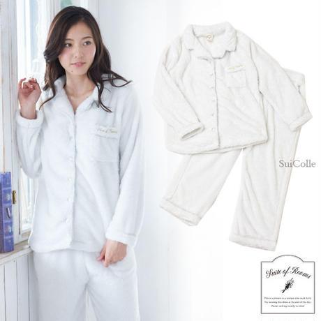 【シャギーボアシャツ上下セット】P91413-533