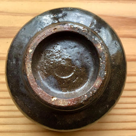 【大人のやちむん】金城宙矛 黒釉小鉢