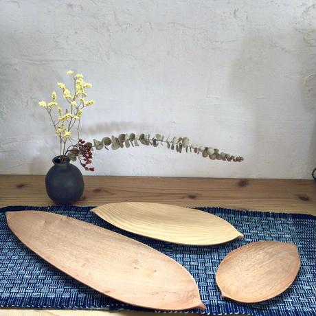 【優しいぬくもり】月桃の葉皿(大) 工房ぬりトン