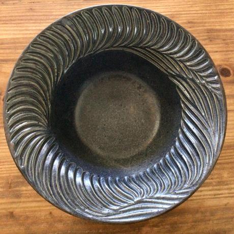 【大人の暮らしに似合う器】ふちしのぎ皿 南端ポタリー