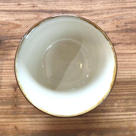 【壺屋焼】國場陶芸 赤絵染付絵皿4寸マカイ