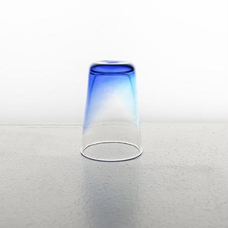 【琉球ガラス】うみいろオリオングラス/ペア【青・水】