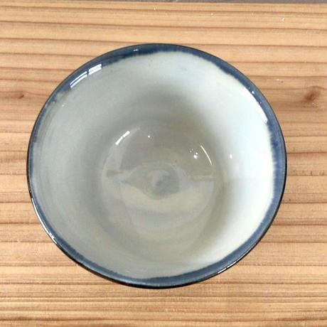 【國場陶芸】壺屋焼 赤絵3.5寸マカイ(ご飯碗)