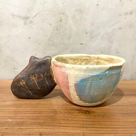 【土の種】ネコぷっくりカップ