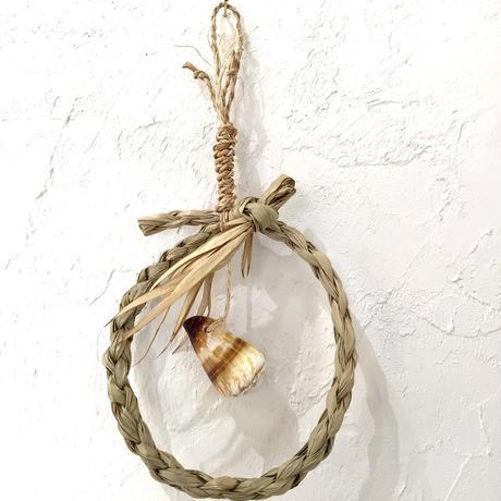 【沖縄の貝細工】貝殻サングヮーガーランド 種水土花