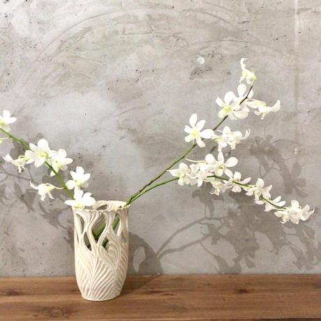 【南端ポタリー】花器 新里竜子