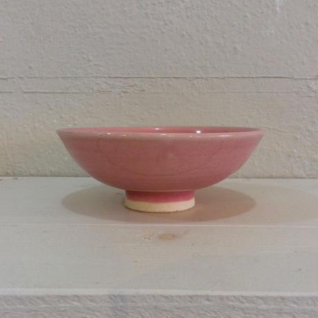ピンク5寸平茶碗