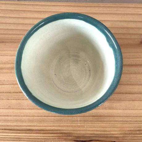 【西表焼青烽窯】そば猪口 フリーカップ グリーン