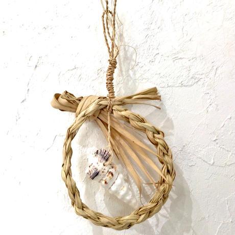 【貝細工】貝殻サングヮーガーランド L   種水土花