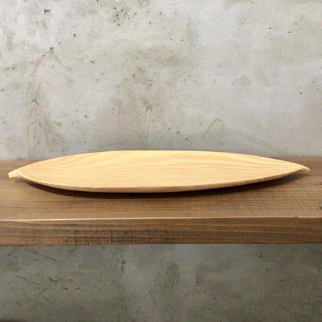 【植物モチーフの器】月桃の葉皿(中) 工房ぬりトン
