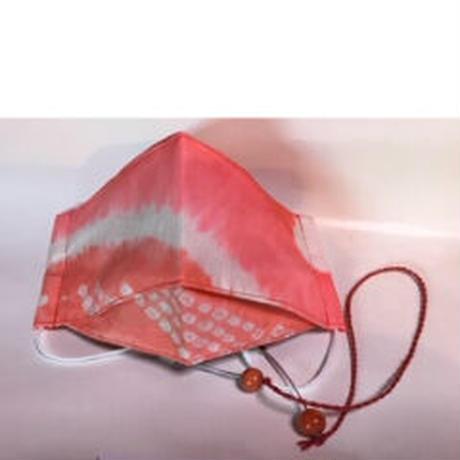 横山由紀子  絞りピンク M   マスク吊り付き