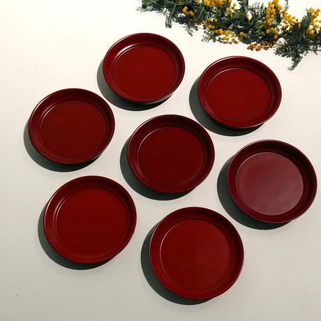 Urushi mini Plate 豆椿
