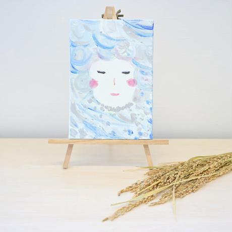 キャンバス画 歳徳神 (2021年オリジナルカレンダー2月のモチーフ)
