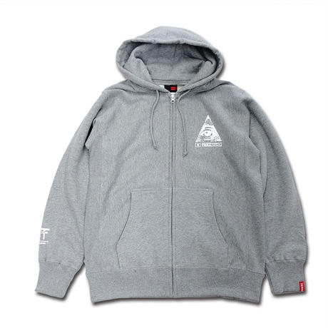 """Secret Logo"" Zip Parka"