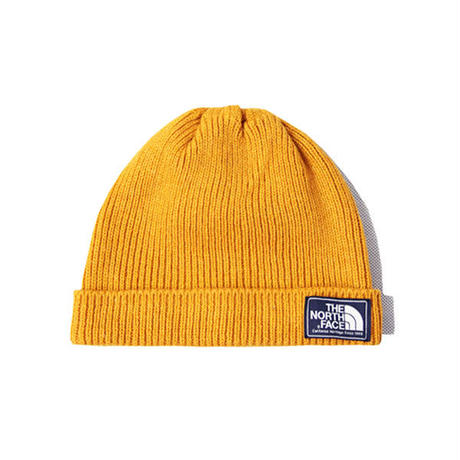 THE NORTH FACE / SHIPYARD BEANIE CAP citrne yellow