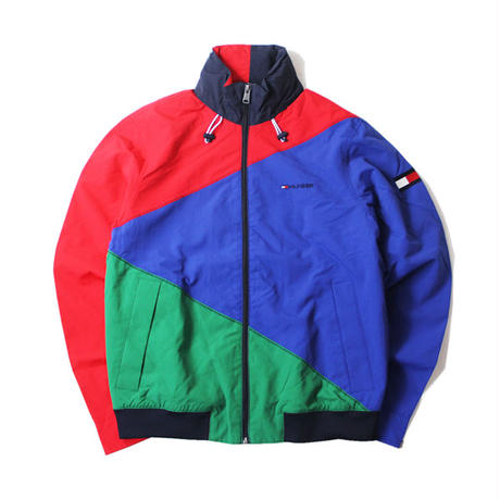 TOMMY HILFIGER / NYLON JACKET red blue green