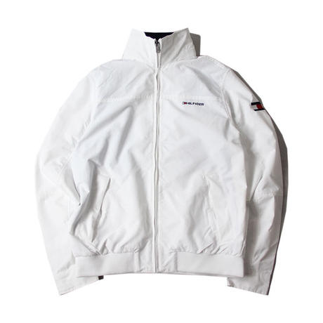 TOMMY HILFIGER / NYLON JACKET white