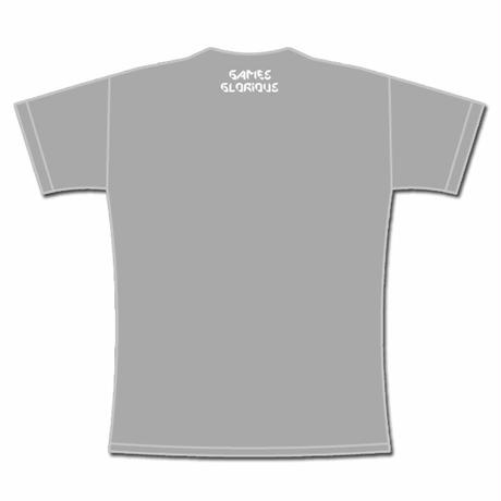 MIND CONTROL  Short-Sleeve T-Shirt  (Gray)