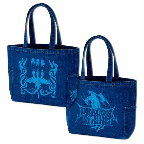 限定50個!ドラゴンスピリット デニムトートバッグ 「Tri-Heads Denim Totebag」