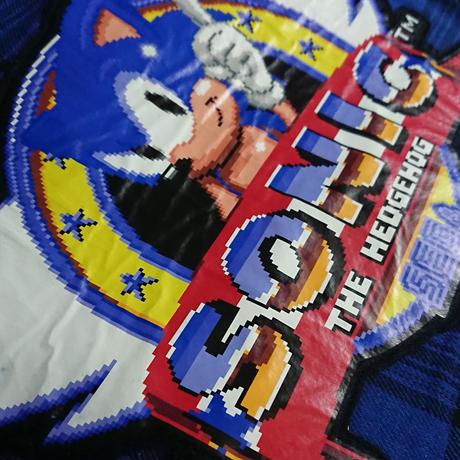 SONIC THE HEDGEHOG  プラッドシャツ