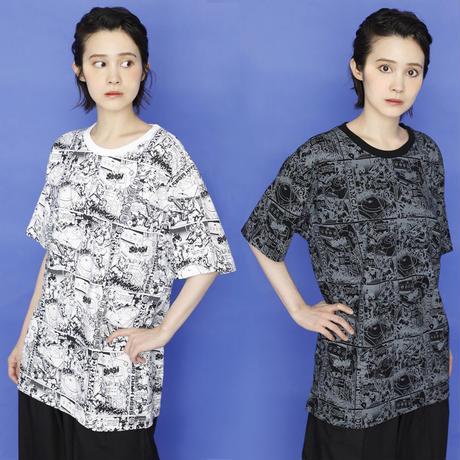 セガ・ハード・ガールズ x ドリームキャスト Comic`s Tシャツ -BLACK-
