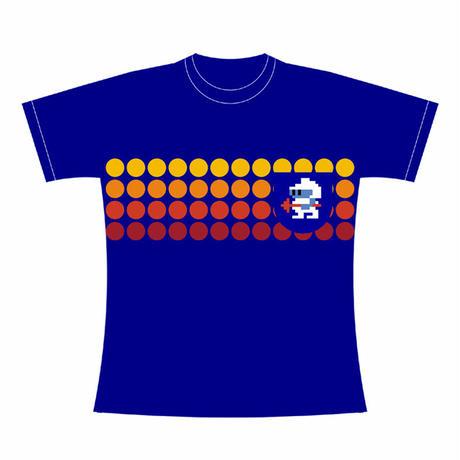 ディグダグ (DIGDUG) 〜1 POCKET TEE〜 (BLUE / Sサイズ)