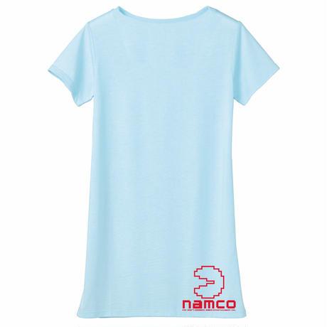 パックマン Arcade Comic`s Tunique T-Shirt  (Sky Blue)