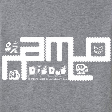 【SOLD OUT】ディグダグ (DIGDUG) 〜1 POCKET TEE〜 (Gray)