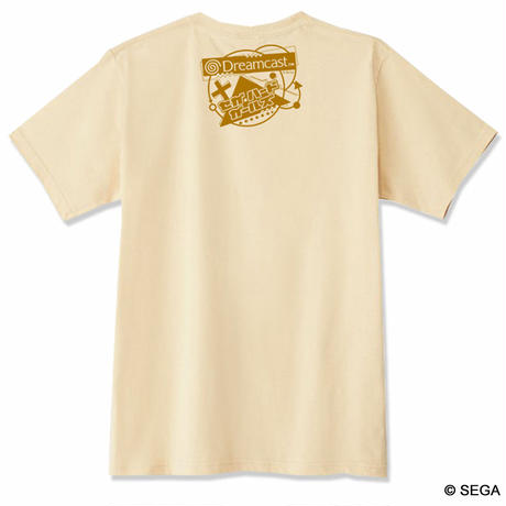 【SEGA HARD GIRLS x DREAMCAST】 Tee  -Beige-