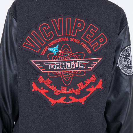GRADIUS 30th Anniversary VicViper Pilot-Jacket ~Steel Gray~