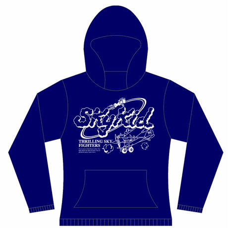 【 SKY KID 】Arcade  Hooded Sweatshirt