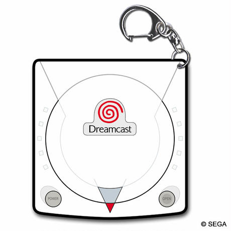 【SEGA HARD GIRLS x DREAMCAST】Acrylic Key Chain